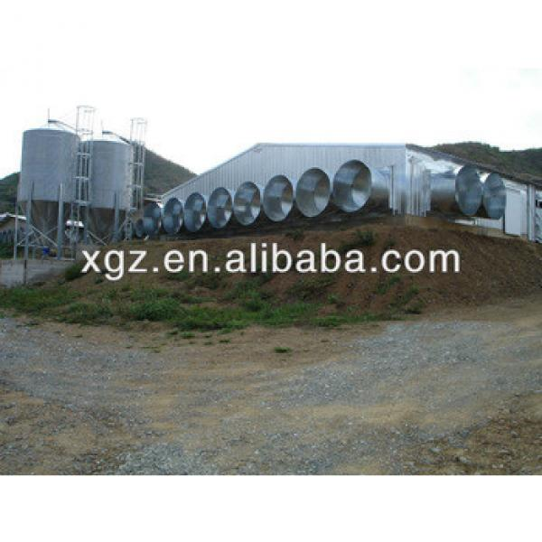 Prefab Steel Structure Poultry House for chicken #1 image