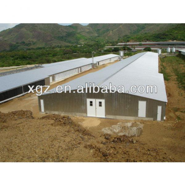 low cost structural steel Poultry Farm/Poultry House/Chicken House #1 image
