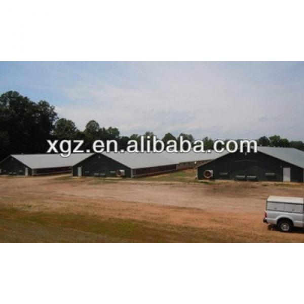 Mordern design steel structure poultry shed #1 image