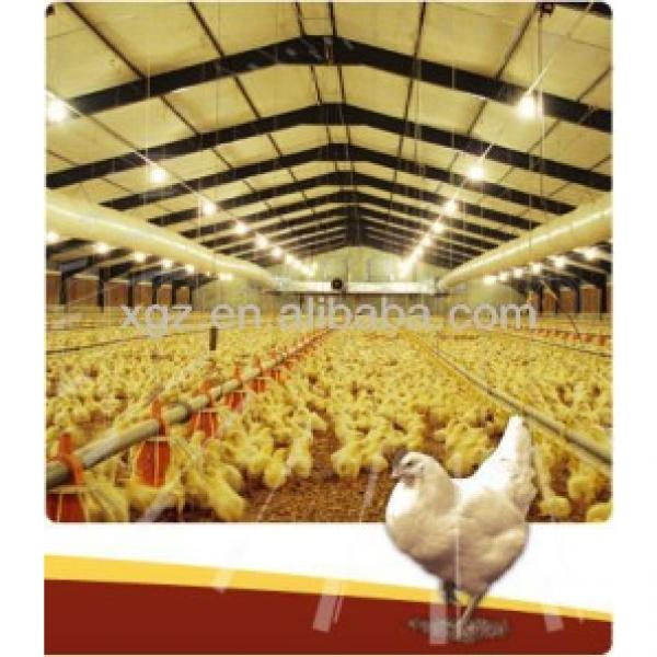 prefabricated steel structure chicken room /poultry house #1 image