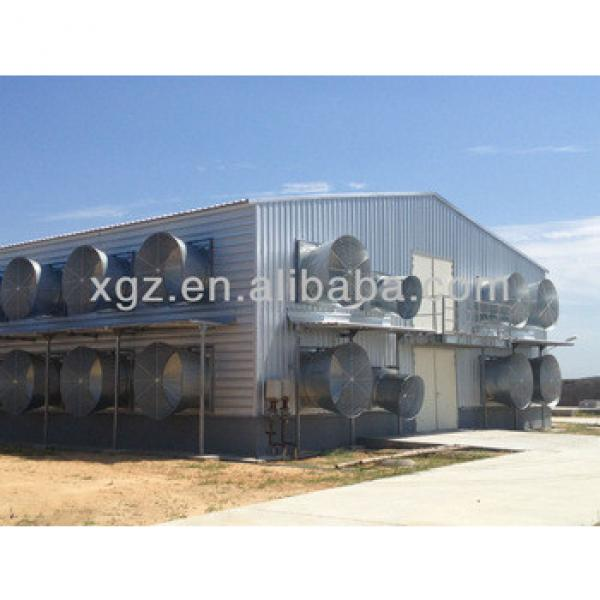 china prefabricated cheap poultry house /chicken house #1 image