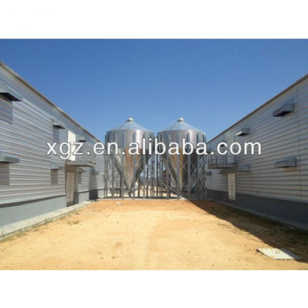 Low Cost Double-deck Poultry House/Chicken House #1 image