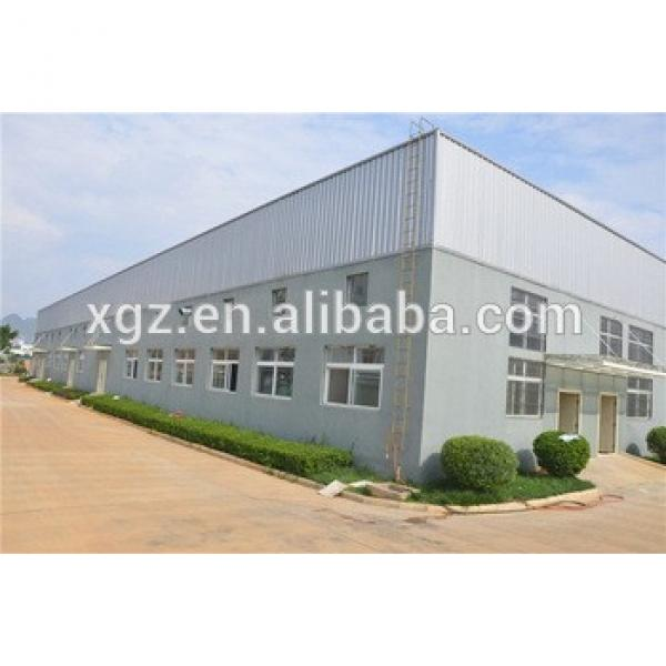customized ISO & CE certificated prefab temporary industrial steel building #1 image