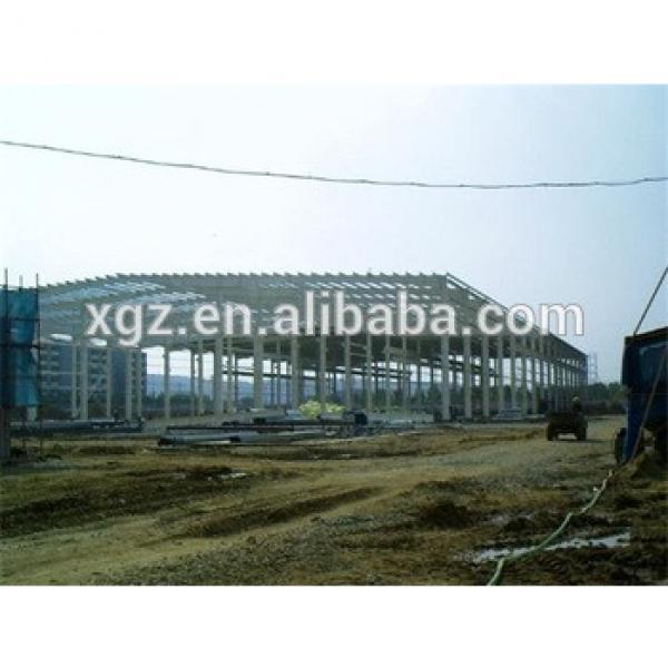 colour cladding steel frame pre fab metal buildings #1 image