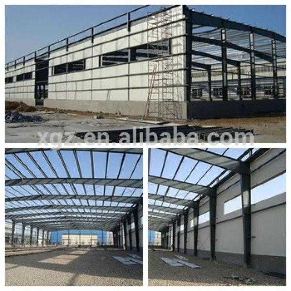 modern steel structure warehouse #1 image