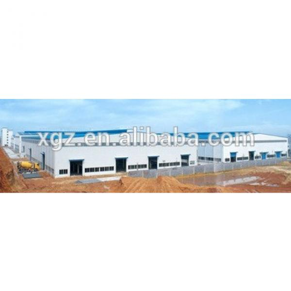 industry large span aircraft hanger frame #1 image