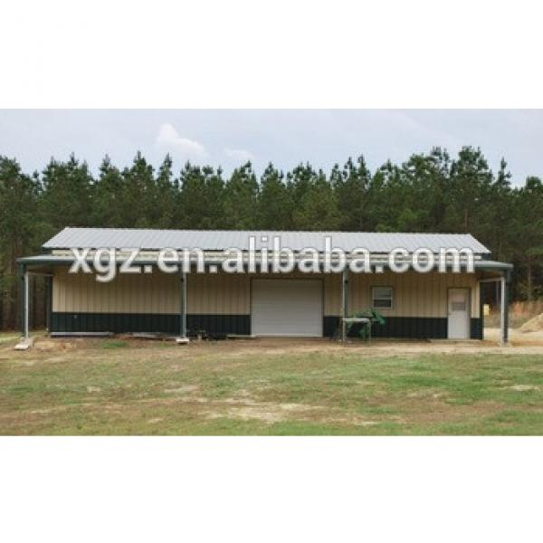 Low cost Prefabricated Fabric Light Steel Storage Shed Made In China #1 image