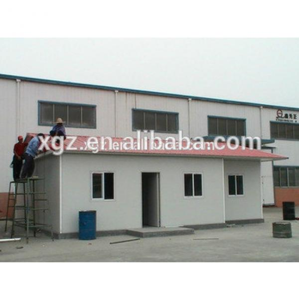 Flat roof steel structure prefabricated house for sale #1 image