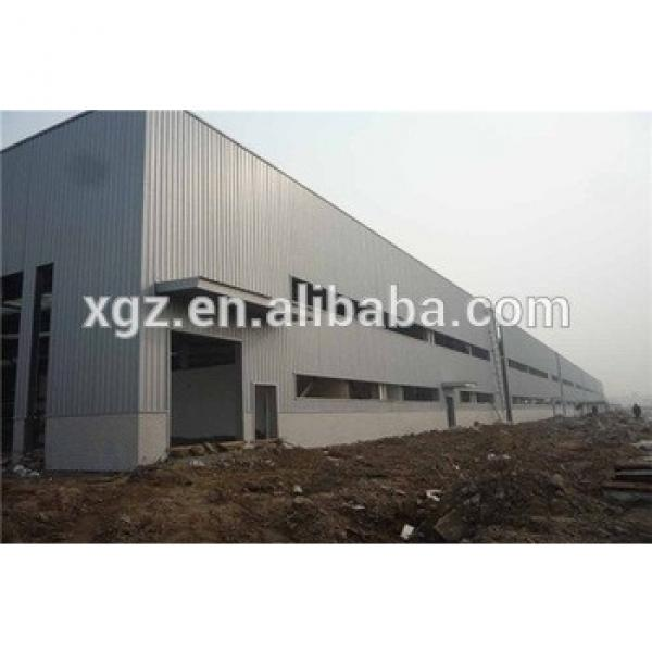 competitive fast construction prefab steel building #1 image