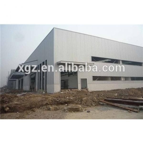 fast construction affordable prefabricated steel frame #1 image