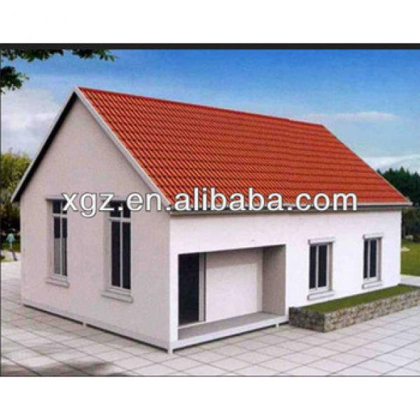 Modern prefab model prefab luxury villa design #1 image