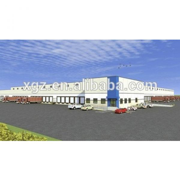 two story multi-span Steel Fabrication Warehouse #1 image
