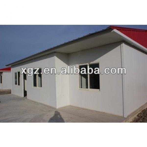 XGZ sandwich panel low cost prefab house design drawing #1 image
