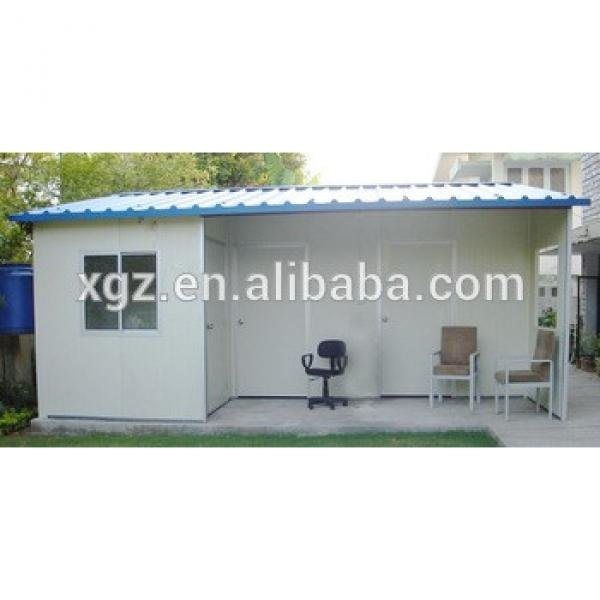 Economic Steel Frame Prefab Mobile Tiny House #1 image