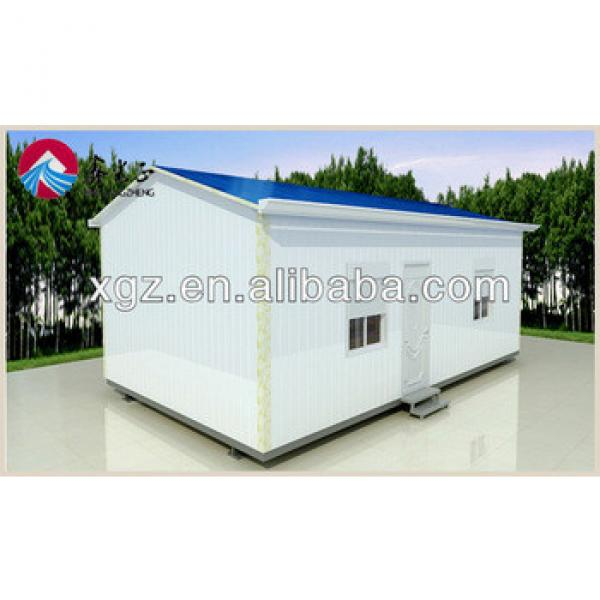 XGZ low cost steel prefabricated sandwich panel house #1 image