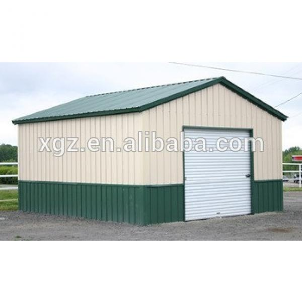 Steel Frame Galvanized Metal Garage with CE Certification #1 image