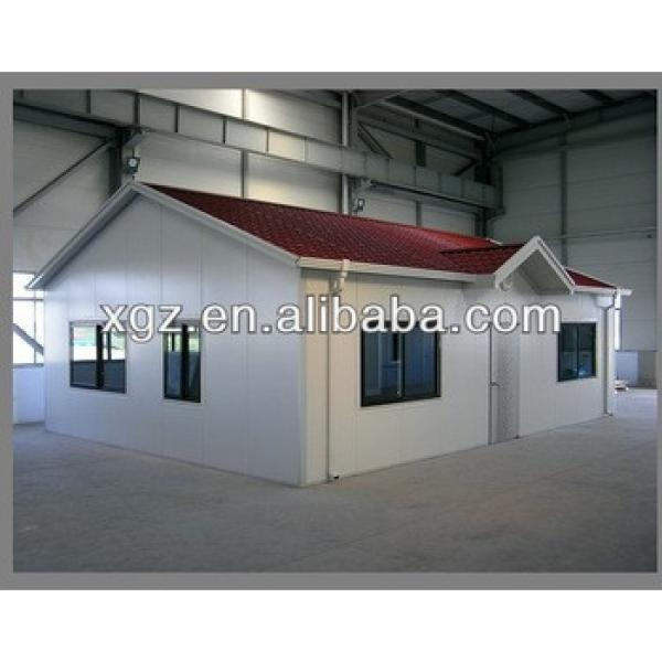 XGZ sandwich panel low cost steel structure prefabricated house #1 image