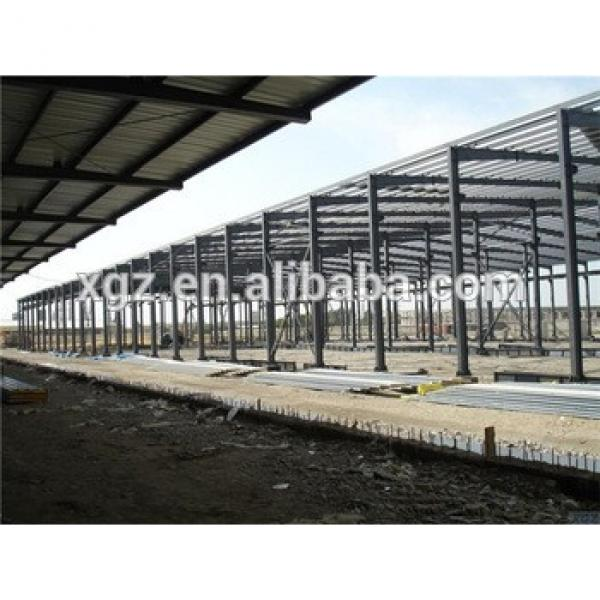 well designed construction design prefabricated metal roof structure #1 image