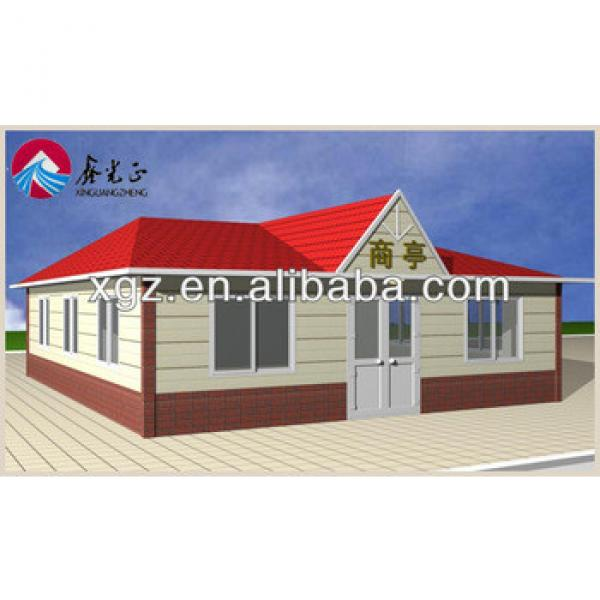 Cheap Slope Roof Prefab House #1 image