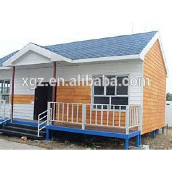 Modular Steel Prefabricated Structure Holiday Prefabricated House #1 image