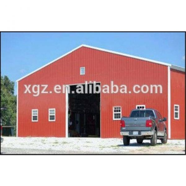 Prefab Steel Structure Storage Shed #1 image