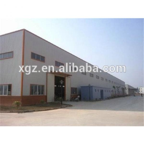 structrual light weight design pre engineered steel structure warehouse #1 image