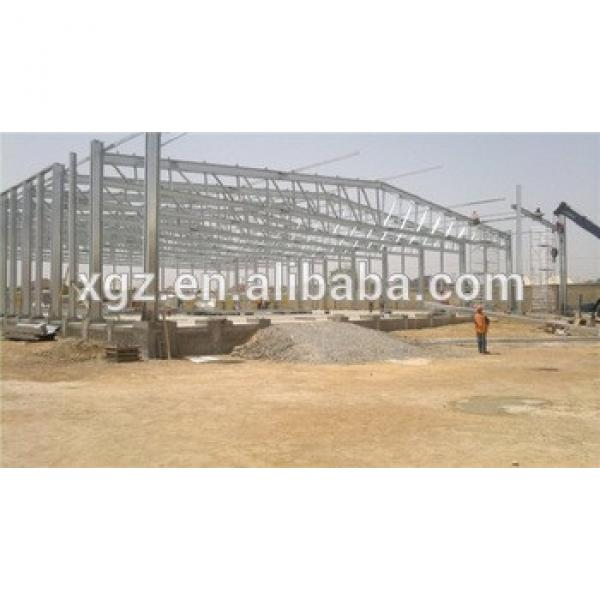 insulated portal steel structure warehouse #1 image