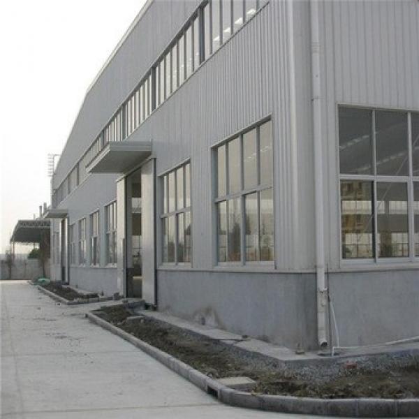 Economic Prefabricated Light Weight Steel Garage Buildings #1 image