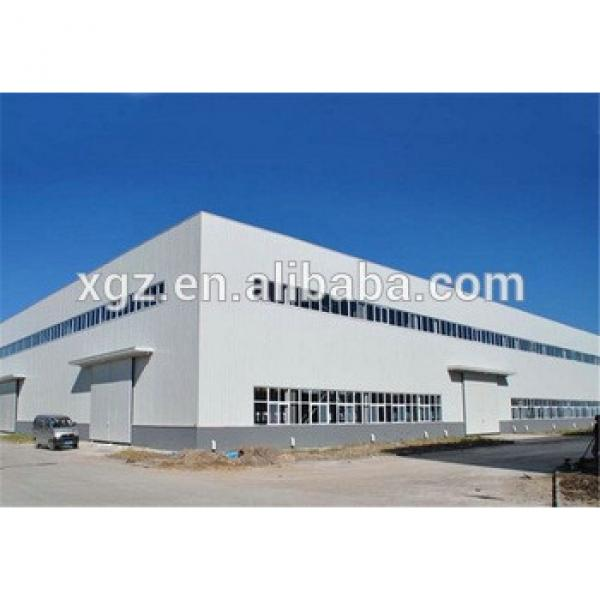 multi-span prefabricated fabric warehouse #1 image