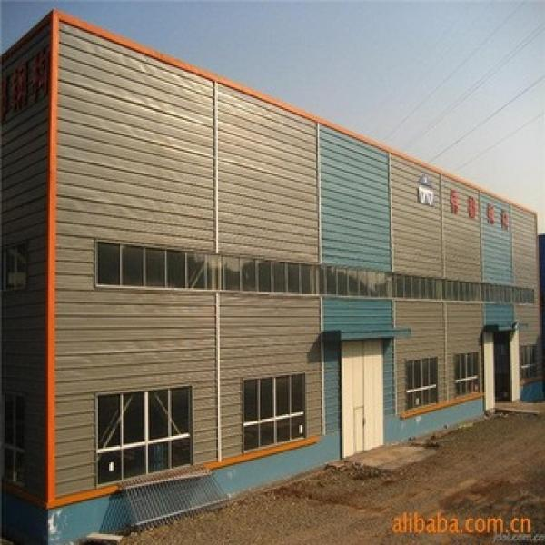 Low Cost EPS Sandwich Panel Prefabricated Steel Warehouse #1 image