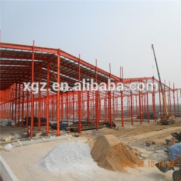 China Light Weight Steel Warehouse Steel Buildings #1 image