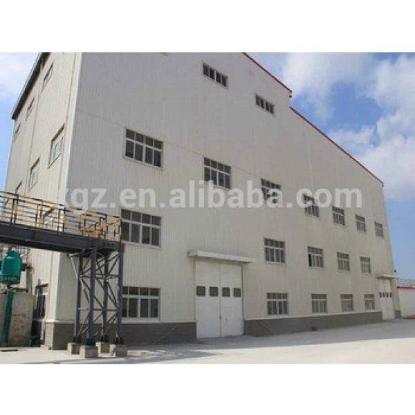 Steel Structural Steel Frame Sandwich Workshop Building #1 image