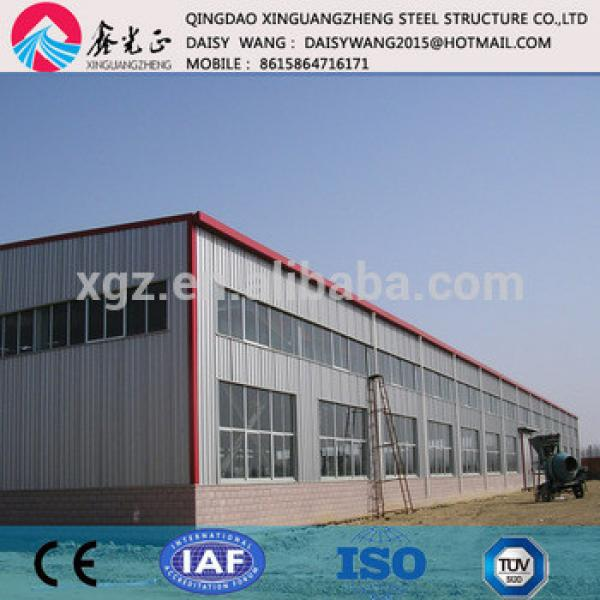 pre engineered sandwich panel steel building for manufacture #1 image
