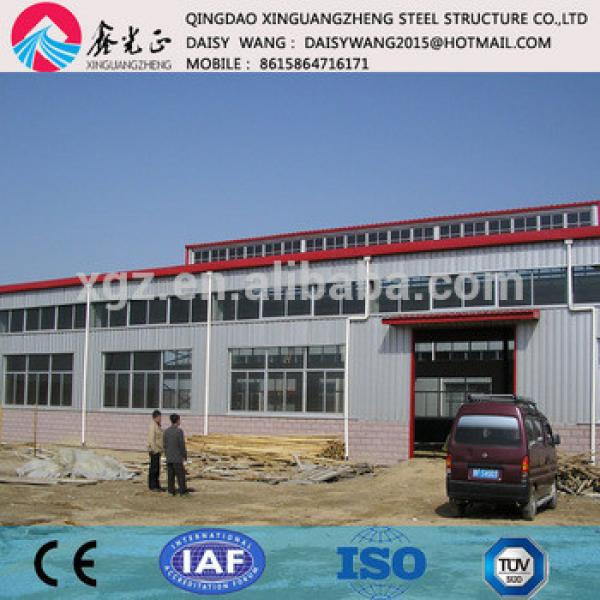 pre engineered sandwich panel steel building for logistics #1 image