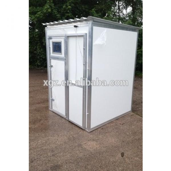 Mini steel structure prefabricated house #1 image