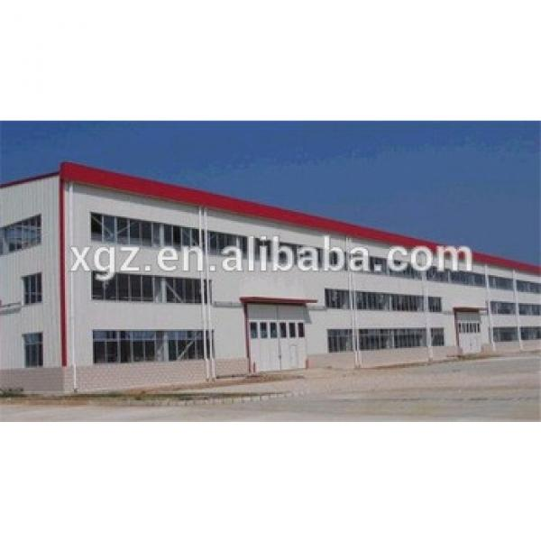economic high rise light steel structure building wide span #1 image