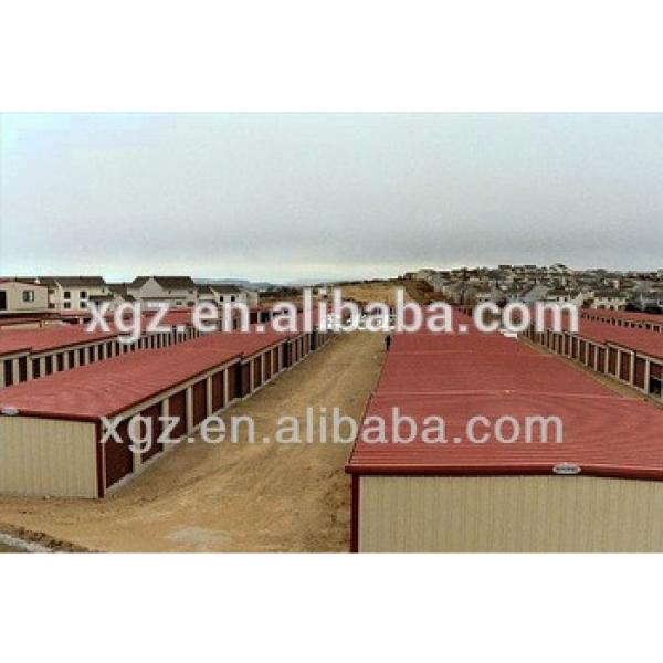 High Quality prefabricated steel structure Mini Storage/warehouse #1 image