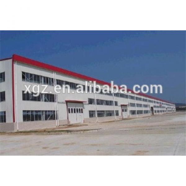 special offer metal multi-span steel structure building #1 image
