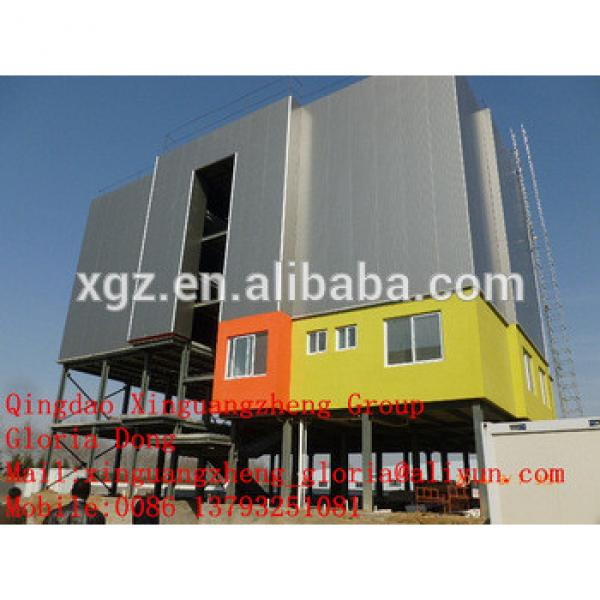 cheap steel building multi storey prefabricated apartments made in China #1 image