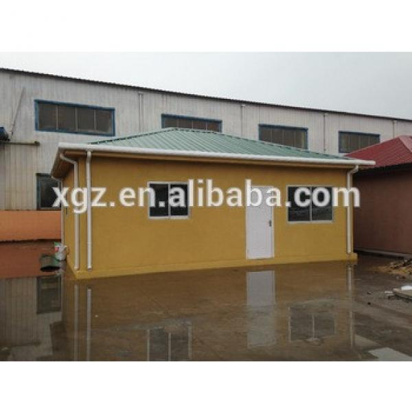 Steel truss and EPS foam cement wall panel prefabricated concrete house #1 image