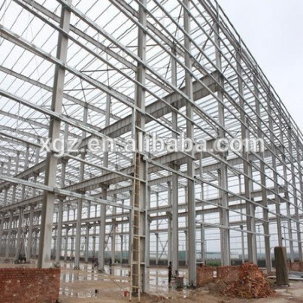 competitive practical designed industrial steel structure building shed #1 image