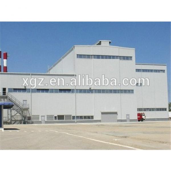 high strength well welded light steel structure industrial shed #1 image