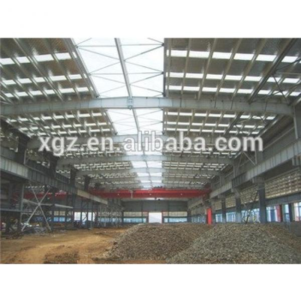 turnkey project industry customized prefabricated steel structure #1 image