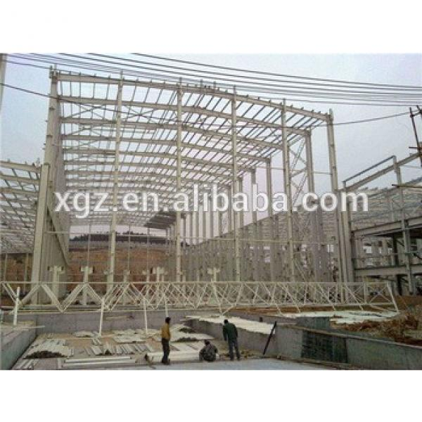 truss steel frame steel structure shopping mall #1 image