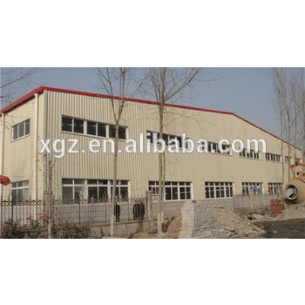 fast erection rockwool sandwich panel steel structure two story building #1 image