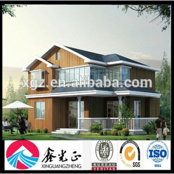 2014 Hot!!! Prefab Luxury Steel Villa #1 image