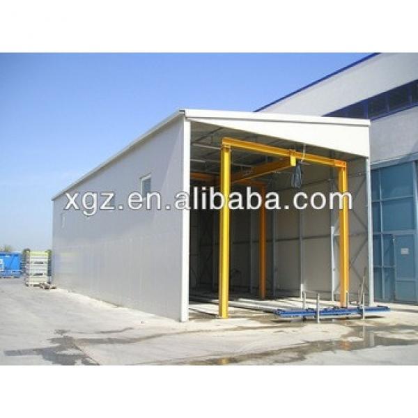 Light Frame Prefabricated Steel Building Industrial Shed Designs Prefab House #1 image