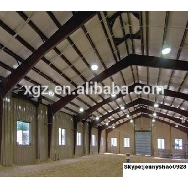 2015 New design hot sales steel structure indoor horse riding arena #1 image