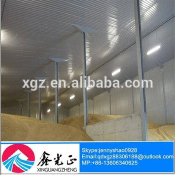 High Quality Fast Construction Low Cost Good Quality Grain Storage Warehouse #1 image