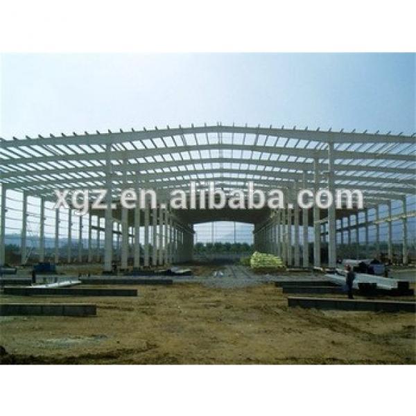 framework multi-span cheap steel structure #1 image